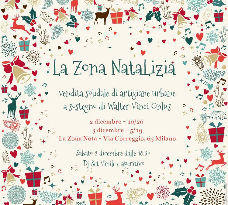 La Zona NataLizia: vendita solidale di artigiane urbane