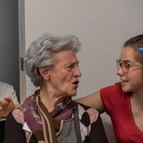 Nonna-e-nipote